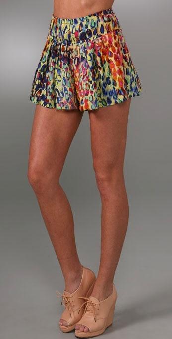 Nanette Lepore Rainshower Shorts
