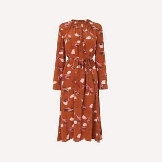 LK Bennett Yadis Rust Dress