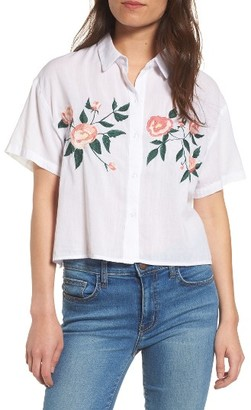 Women's Rails Gretta Embroidered Shirt $168 thestylecure.com