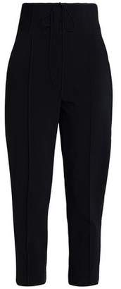 Nicholas Cropped Cady Tapered Pants