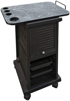 Equipment Modern Elements KD Locking Trolley with Laminated Topper JLS-100XTY