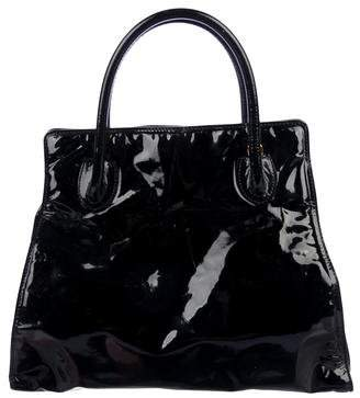Bottega Veneta Vintage Patent Leather Tote