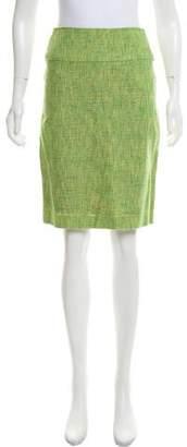 Dolce & Gabbana Bouclé Knee-Length Skirt