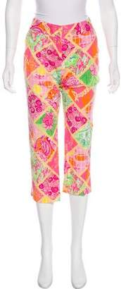 Lilly Pulitzer Mid-Rise Cropped Pants