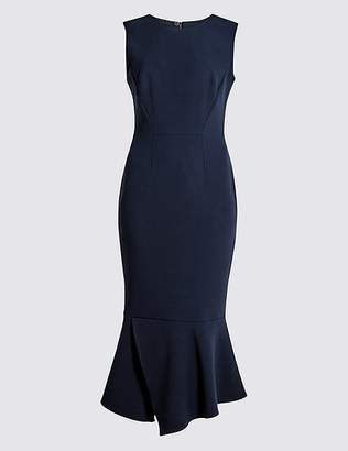 Marks and Spencer Peplum Hem Midi Dress
