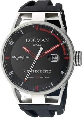Locman Italy Men's 051100BKFRD0GOK Montecristo Classic Automatic Analog Display Automatic Self Wind Watch
