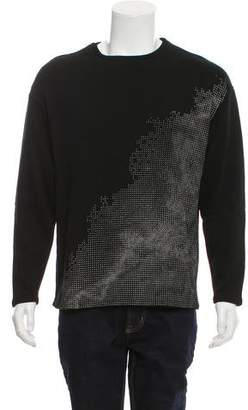 Garciavelez Woven Crew Neck Sweater w/ Tags