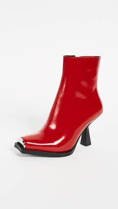 Jeffrey Campbell Hiatus Square Toe Boots