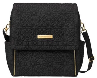 Infant Petunia Pickle Bottom 'Embossed Boxy' Backpack Diaper Bag - Black $215 thestylecure.com