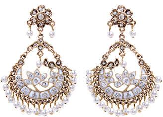 Amrita Singh Delhi Crystal & Enamel Earrings