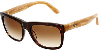 Salvatore Ferragamo Men's Sf686s 56Mm Sunglasses