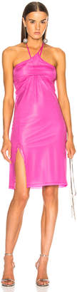 Helmut Lang x Shayne Oliver Pulled Slip Dress in Fuchsia | FWRD