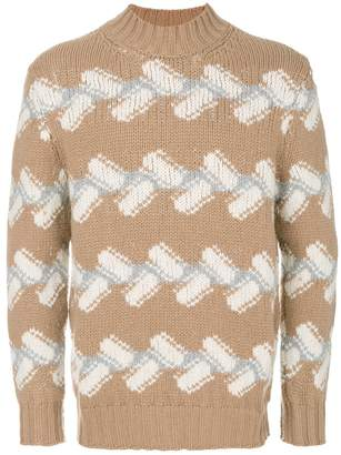Drumohr patterned jumper
