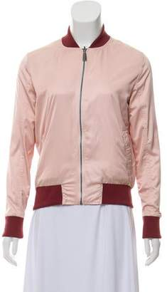 Anine Bing Reversible Bomber Jacket