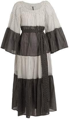 Lisa Marie Fernandez Polka-dot print cotton dress