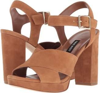 Nine West Jimar Platform Block Heel Sandal Women's Shoes