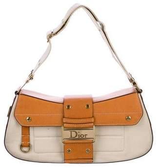 Christian Dior Canvas Street Chic Columbus Bag