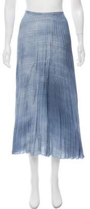 Ermanno Scervino Pleated Midi Skirt