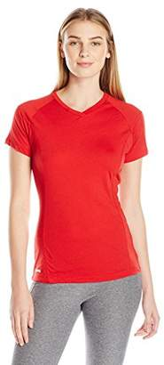 Russell Athletic Women's Dri-Power 80/20 Performance V-Neck Tee