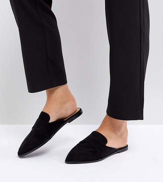 Asos MOUSE Wide Fit Pointed Mules
