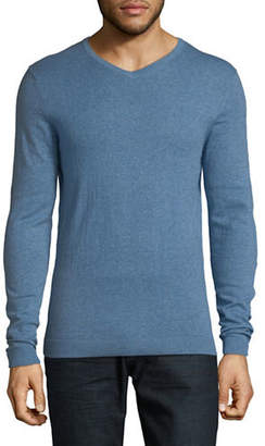 Jack and Jones PREMIUM Jprluke Cashmere Blend Knit V-Neck Sweater