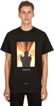 Ih Nom Uh Nit Closed Print Cotton Jersey T-Shirt