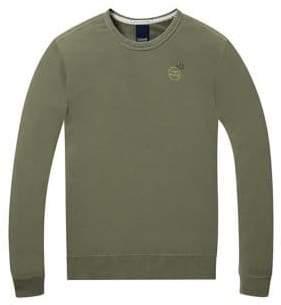 Scotch & Soda Garment Dyed Cotton Sweater