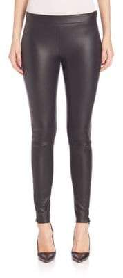 Mackage Navi Paneled Leather Leggings