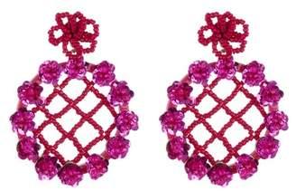 BaubleBar Lilium Flower Drop Earrings