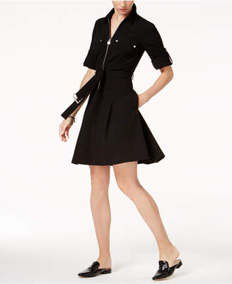 Michael Kors Belted Shirtdress, In Regular and Petite