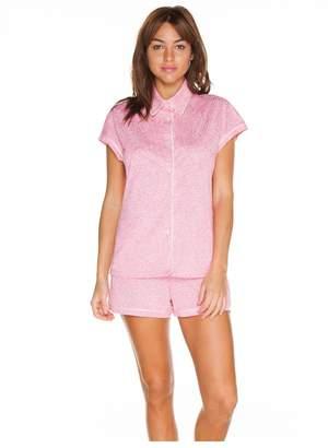 Cosabella Bella Printed Capsleeve Boxer Pajama Set