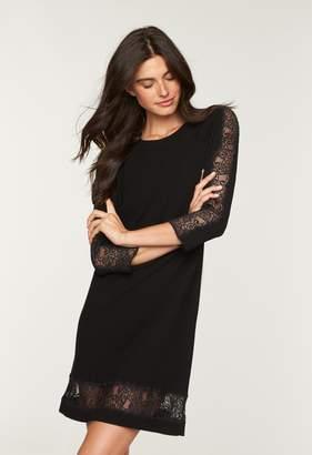 MillyMilly Lace Trim A-Line Dress