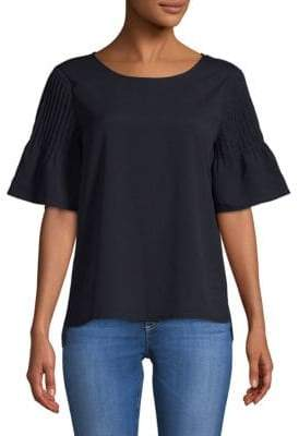 French Connection Classic Bell-Sleeve Top