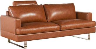 Abbyson living Edison Top Grain Leather Sofa
