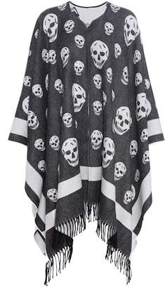 Alexander McQueen Wool and cashmere cape