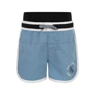 Karl Lagerfeld LagerfeldBoys Blue Swim Shorts