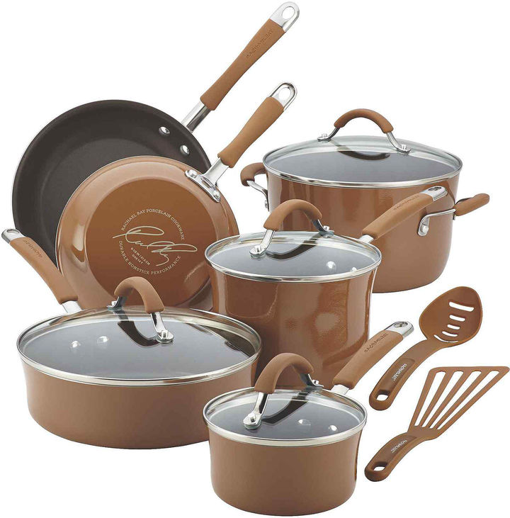 Rachael Ray Cucina 12-pc. Cookware Set