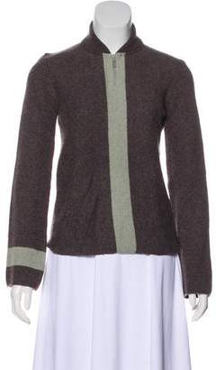 Chanel Cashmere Mock Neck Sweater