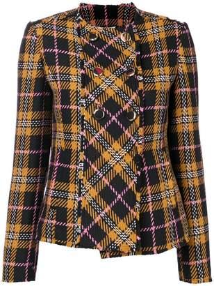 Liu Jo macro tartan jacket