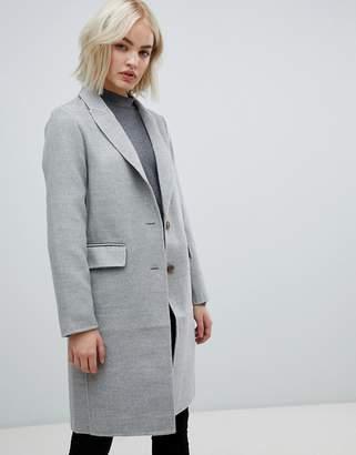 New Look Grey Tailored Coat