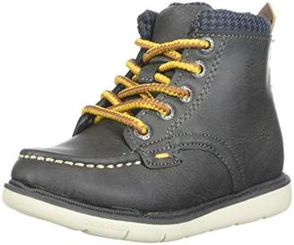 Step & Stride Boy's Hunter High Top Lumberjack Boot Fashion