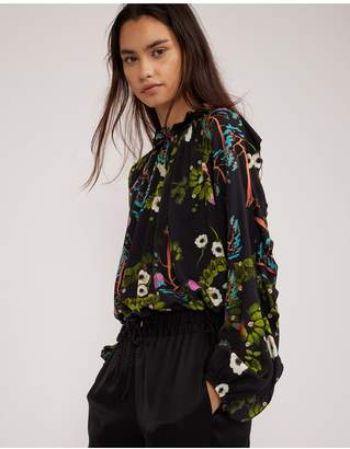 Cynthia Rowley Windsor Blouse
