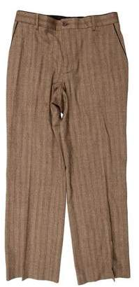 John Varvatos Herringbone Wool Pants