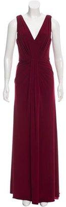 Vera Wang Draped Evening Dress $200 thestylecure.com