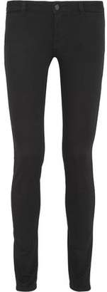 Givenchy Skinny Jeans In Black And Red Stretch-Denim