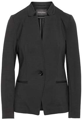 Banana Republic Unstructured Ponte Blazer