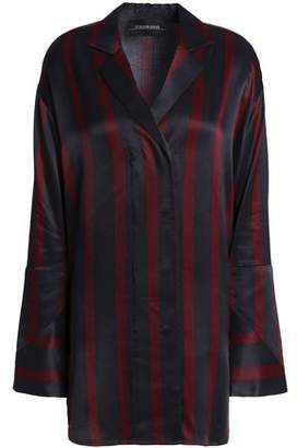 By Malene Birger Striped Satin Shirt
