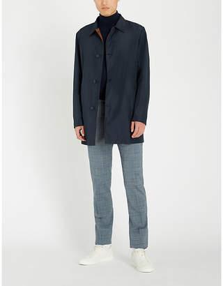 Corneliani Reversible shell trench coat