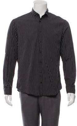 Cloak Woven Striped Shirt