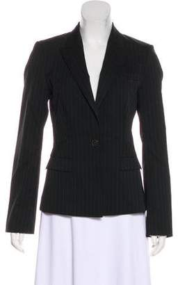 HUGO BOSS Peak-Lapel Striped Blazer